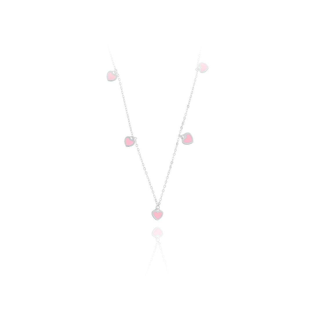 cadena corazones